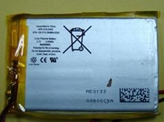 锂离子电池606168-2500mAh 3.7V