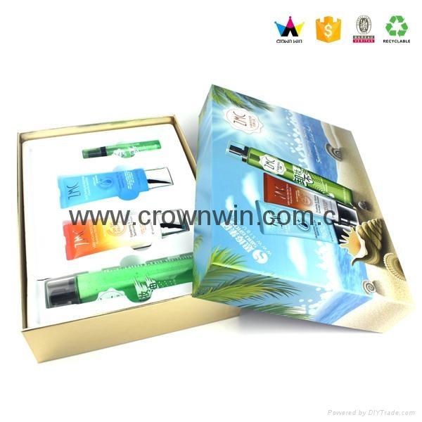 Private Custom Paper Gift Set Cosmetic Box 1