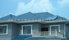 屋顶式承压太阳能热水器