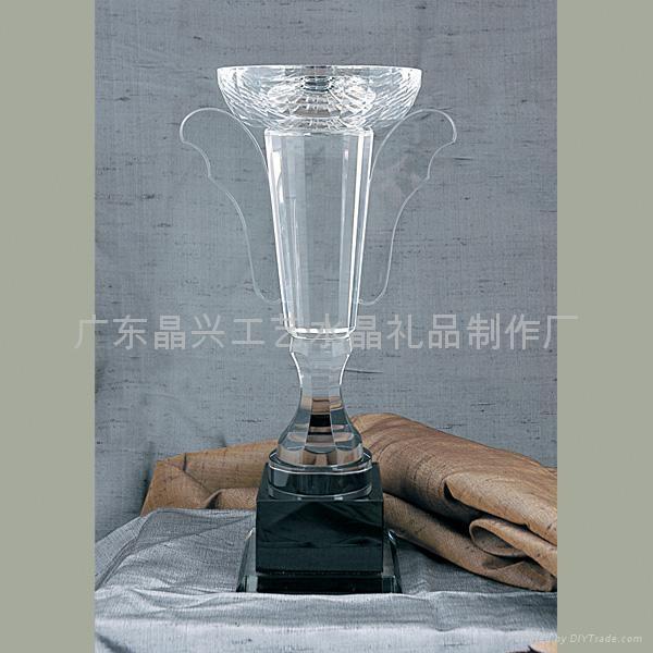 广州越秀区水晶奖杯,冠亚军奖杯,  教师奖杯