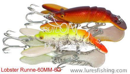 hard plastic lures,shrimp 1