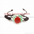 Real Flower Amber Bracelet Fashional Jewellery birthday gift 1