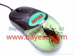 高质量昆虫琥珀光电鼠标 USB琥珀光电鼠标
