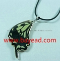 Real butterfly Necklace Fashional Jewelry Valentines Gift Girl's Gift 4