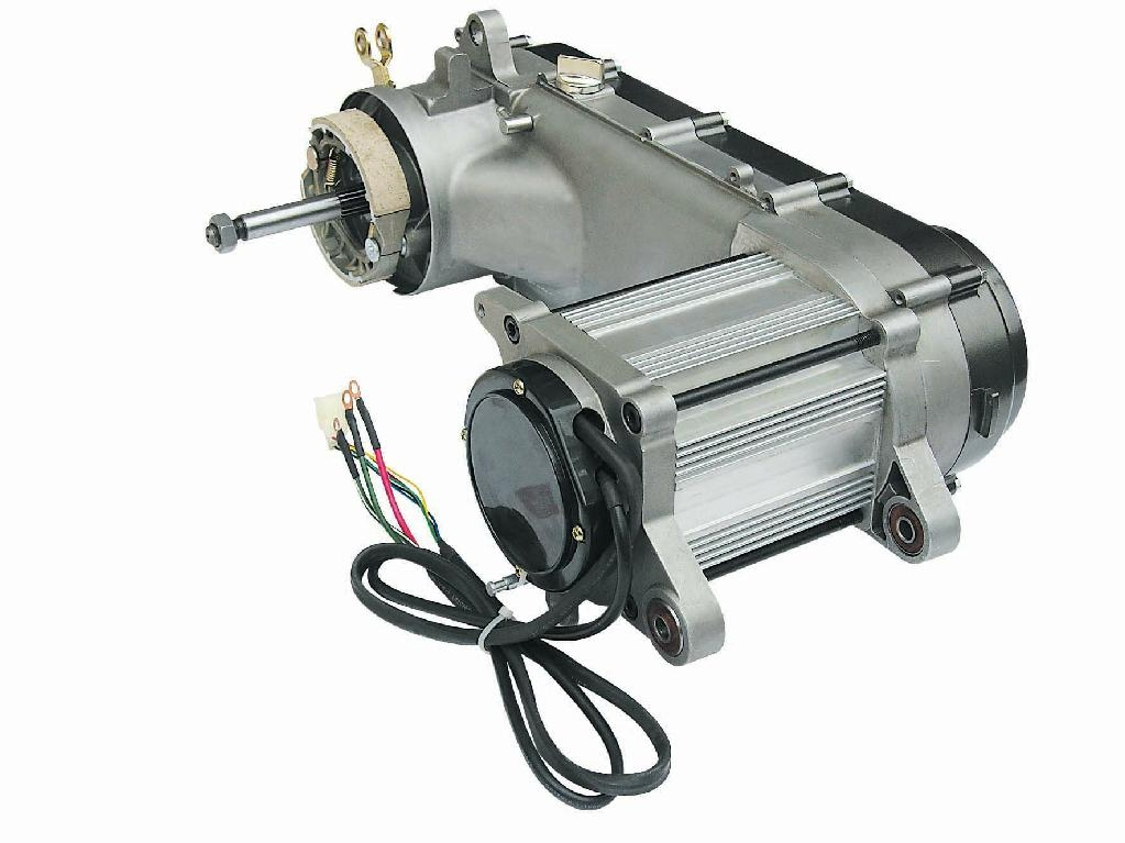 3000w cvt motor with controller for electric motorcycle for Electric scooter brushless motor