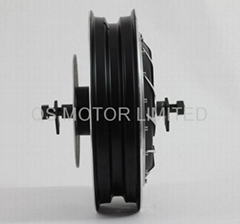 6000W 14inch brushless hub motor,electric scooter motor