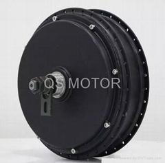 3000W V3 E-bike Spoke Hub Motor,150mm width for the rear fock (Hot Product - 1*)