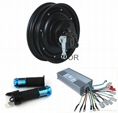 1000W 10inch Hub Motor with Controller and Throttle,Kits for electric scooter