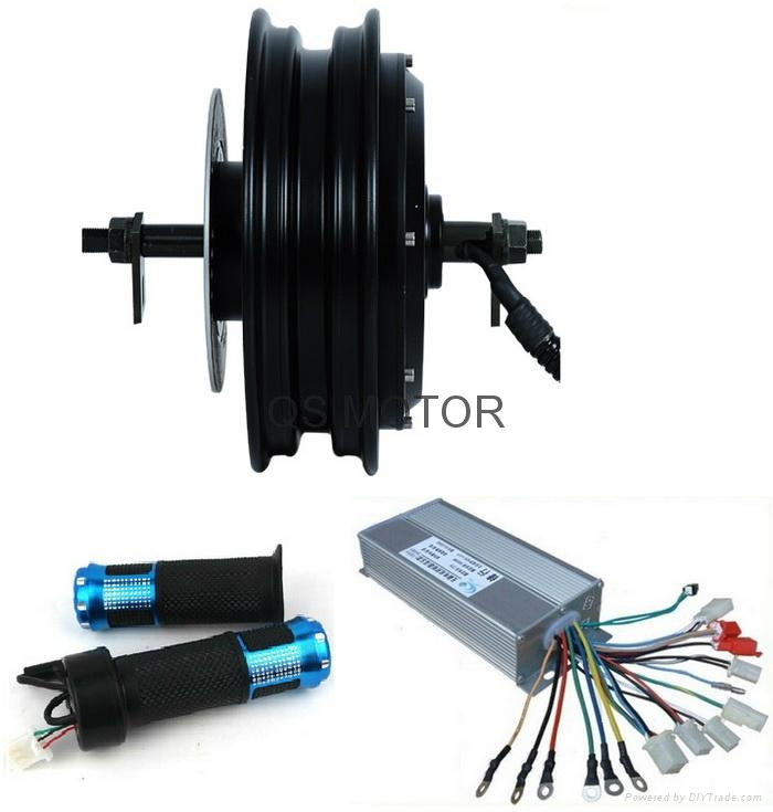1000w 10inch hub motor with controller and throttle kits for Scooter hub motor kit