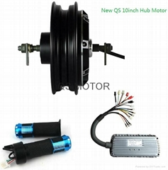 1500W 10inch Hub Motor with Controller and Throttle,electric scooter kit