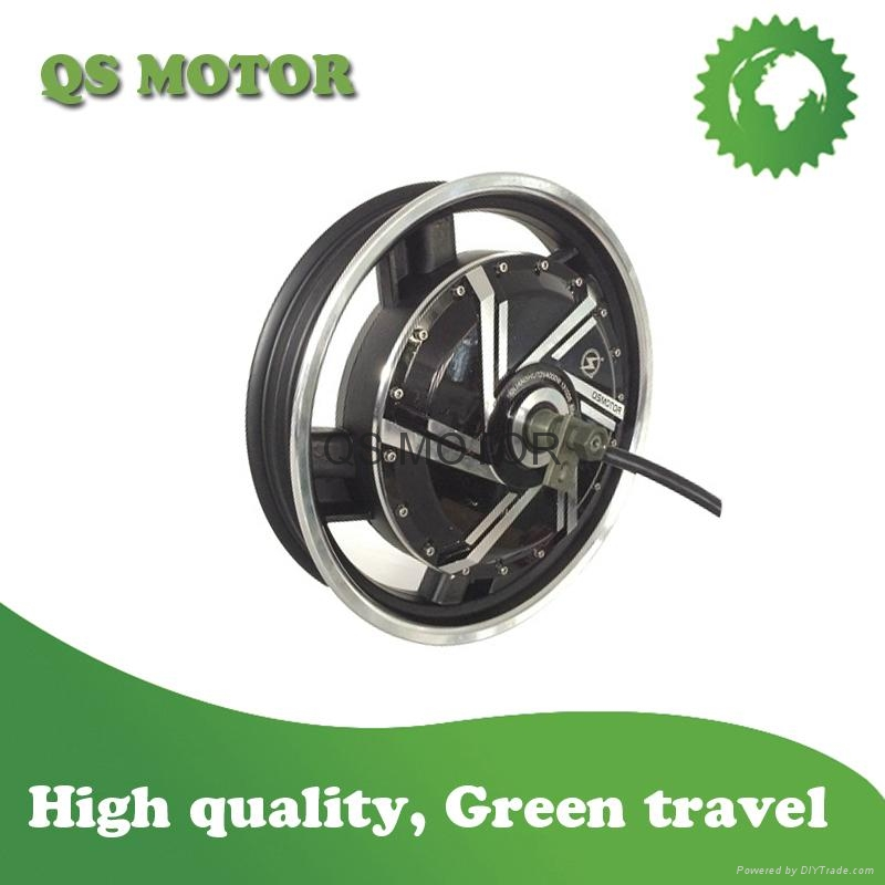 16inch 4000w In Wheel Hub Motor 40h V3 For Electric