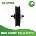 16inch 40000W QS Hub Motor Electric Motorcycle