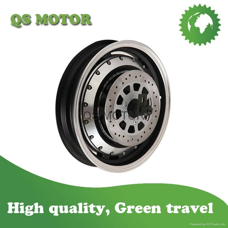 14inch 2000W In-Wheel Hub motor V2 Type For Electric Motorcycle