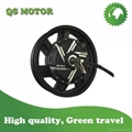 8000W 17inch In-Wheel Hub Motor for Electric motorcycle