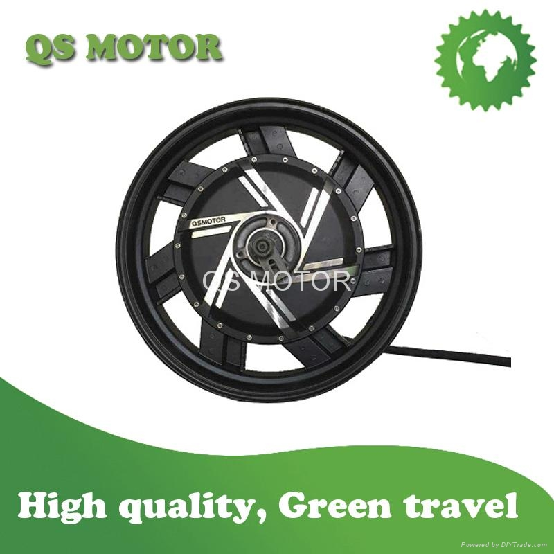 6000W 17inch in-wheel hub motor for electric motorcycle
