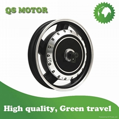 5000W 17inch in-wheel hub motor for electric motorcycle