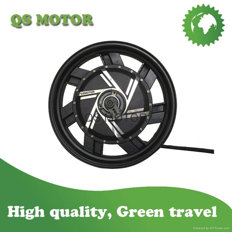 3000W 17inch in-wheel hub motor for electric motorcycle