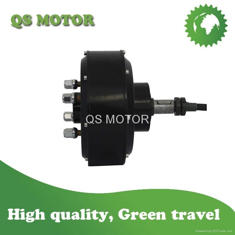 3000w 205 Single Shaft Car Hub Motor Qs Hub Motor Qs