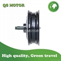 5000W 13inch Single-shaft hub motor, Single swing arm motor for scooter