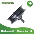 6000W 13inch Single-shaft hub motor Single swing arm motor for scooter