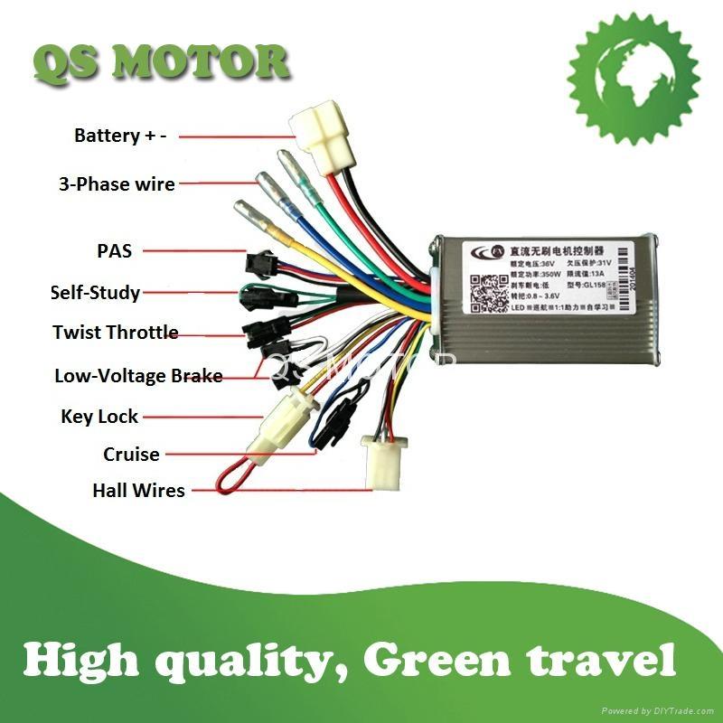 250W E-bike Motor Controller-6MOSFET