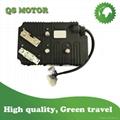 KLS72601-8080I 24V-72V 600A E-SCOOTER SINUSOIDAL BLDC MOTOR CONTROLLER FOR ELECT