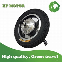 12'' 250W 36V Geared Hub motor with tire for light electric scooter