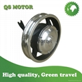 12'' 250W 36V Single shaft Geared Hub motor for light electric scooter