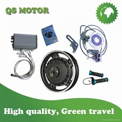 8000W 72V 17inch Electric motorcycle Motor Conversion Kits