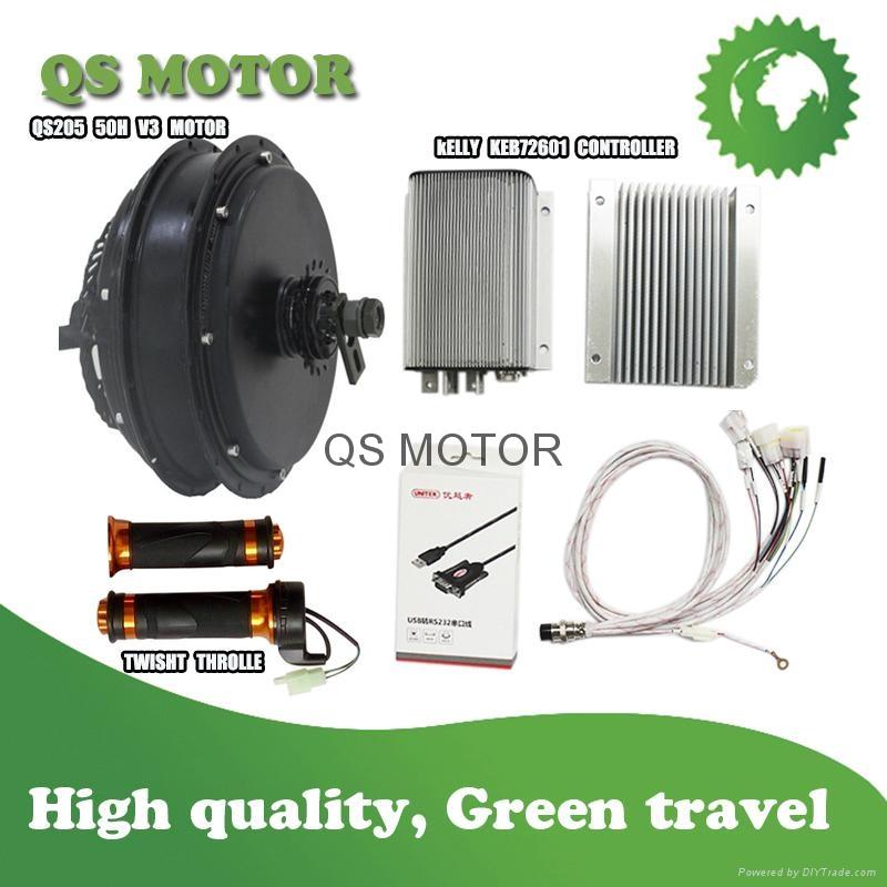 QS MOTOR 6000W Electric Bike Conversion Kits