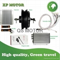 QS 4000W 72V 10inch In-Wheel Hub Motor with Kelly Controller KEB72601 and throttle Speed 100kph