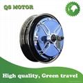 10inch electroplating blue hub motor