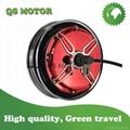 Electroplating red hub motor