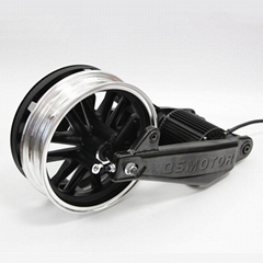 QS 1000W BLDC Mid-drive Motor Assembly Kits For Electric Scooter