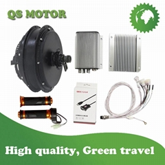 QS6000W Electric Bike Conversion Kits with QS205 50H V3 E-Bike Hub Motor