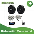 2WD 3000W Hub Motor Electric Car Conversion Kits