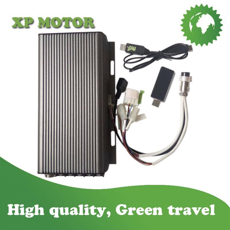 Programmable Sabvoton Controller SVMC72100 For Electric Motorcycle, Sine-Wave 25 3
