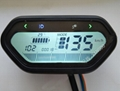 48V - 120V Electric Motorcycle / Scooter Speedometer / LCD Display for Universal