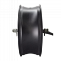 10000W Electric Motorcycle Hub Motor with 6.0x17 Wheel