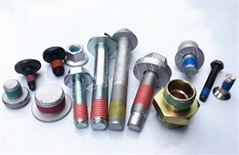 螺丝涂胶 专业螺母内牙涂胶加工 紧固件上胶 螺栓涂胶加工