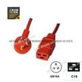 GB16A-C19 服务器 路由器UPS PDU彩色电源线 2