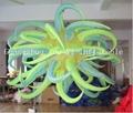 LED light inflatable star wedding