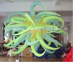 LED light inflatable star wedding decoration