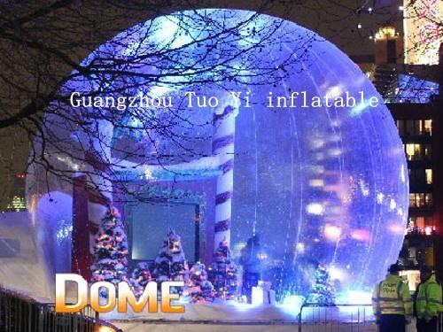 Life Size Christmas Snow Globe For Christmas Decoration - snow ...