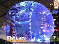 Life Size Christmas Snow Globe For Christmas Decoration