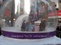 Life Size Christmas Snow Globe For Christmas Decoration 4