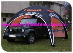 Digitial Printing Branded X-Gloo Tent For Car Exhibition