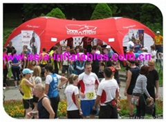 Branded X-Gloo Tent Dome For Event Advertising