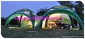 Branded Inflatable X Arch Gloo Tent For Trade Show , Trade Show Tent 3