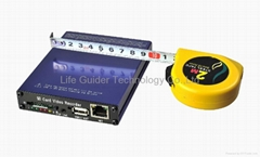 SD card Mobile DVR with GPS 4ch D-1 H.264 (Hot Product - 1*)